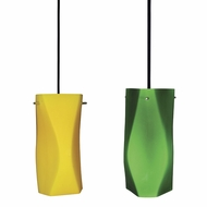 Cal PN-930-6-BK Modern Line Voltage Mini Pendant Hanging Light