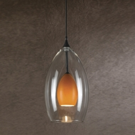 Cal PNL-1046-6 Modern Low Voltage Dark Bronze Halogen Mini Pendant Lighting