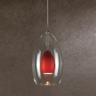 Cal PNL-1047-6 Contemporary Low Voltage Braided Steel Halogen Mini Drop Lighting Fixture