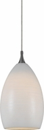 Cal PNL-1060-6 Modern Low Voltage Frosted White Halogen Mini Lighting Pendant