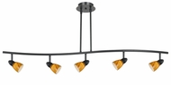 Cal SL-854-5 Serpentine Modern LED 5-Light Island Light Fixture