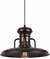 Cal UP-1110-6-RU Winterset Nautical Rust Pendant Light Fixture