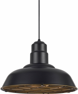 Cal UP-1111-6-DB Ashland Contemporary Dark Bronze Hanging Pendant Lighting