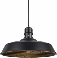 Cal UP-1112-6-DB Danberry Modern Dark Bronze Hanging Light Fixture
