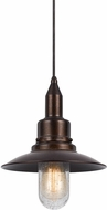 Cal UP-1114-6-RU Paterson Nautical Rust Mini Drop Lighting