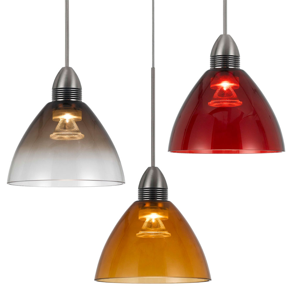 Cal upl 716 contemporary dimmable led mini pendant light for Contemporary lighting pendants