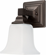 Capital Lighting 1061BB-142 Capital Vanities Burnished Bronze Wall Sconce