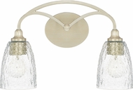 Capital Lighting 110821SF-302 Seaton Contemporary Soft Gold 2-Light Bath Lighting Fixture