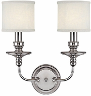 Capital Lighting 1232PN-451 Midtown Polished Nickel Light Sconce