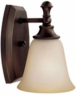 Capital Lighting 1331BB-287 Belmont Burnished Bronze Lamp Sconce