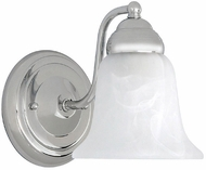 Capital Lighting 1361CH-117 Chrome Lighting Wall Sconce