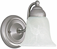 Capital Lighting 1361MN-117 Matte Nickel Wall Lighting Sconce