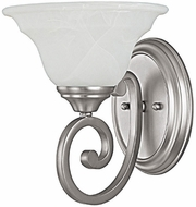 Capital Lighting 1781MN-222 Chandler Matte Nickel Wall Mounted Lamp