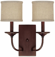 Capital Lighting 1982BB-468 Loft Burnished Bronze Sconce Lighting