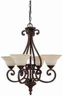 Capital Lighting 3074BB-292 Chandler Burnished Bronze Mini Chandelier Light