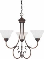 Capital Lighting 3223BB-220 Hometown Burnished Bronze Mini Chandelier Lighting