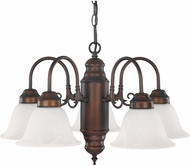 Capital Lighting 3255BB-118 Burnished Bronze Mini Chandelier Lighting