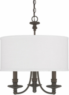 Capital Lighting 3913BB-453 Midtown Burnished Bronze Mini Chandelier Lighting