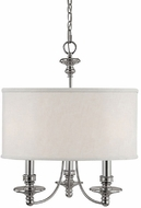 Capital Lighting 3913PN-453 Midtown Polished Nickel Mini Chandelier Lamp