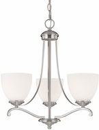 Capital Lighting 3944MN-202 Chapman Matte Nickel Mini Chandelier Light