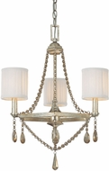 Capital Lighting 4007WG-500 Fifth Avenue Winter Gold Mini Hanging Chandelier