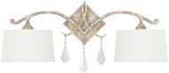 Capital Lighting 4492SQ-571-CR Harlow Silver Quartz Wall Sconce Light
