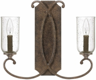 Capital Lighting 4972MT-239 Harrison Mottled Brown Wall Sconce Light
