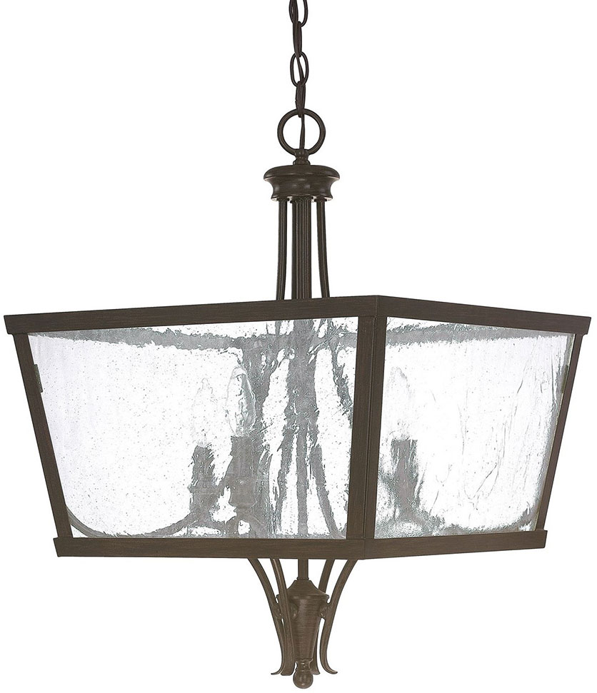 Capital Lighting 4998RS Abbey Russet Foyer Light Fixture CPT 4998RS