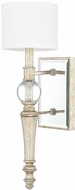 Capital Lighting 611711GS-654 Carlyle Gilded Silver Wall Lighting Fixture