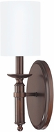 Capital Lighting 6301BB-489 Covington Burnished Bronze Wall Lighting