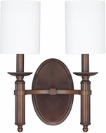 Capital Lighting 6302BB-489 Covington Burnished Bronze Light Sconce