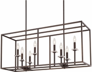 Capital Lighting 7004BB Morgan Modern Burnished Bronze Kitchen Island Light