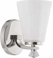 Capital Lighting 8021PN-127 Alisa Polished Nickel Wall Sconce Lighting