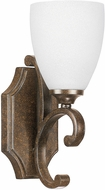 Capital Lighting 8091MT-217 Harrison Mottled Brown Wall Sconce Light