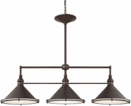 Capital Lighting 812231BB Langley Burnished Bronze Kitchen Island Light Fixture