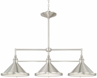 Capital Lighting 812231BN Langley Brushed Nickel Island Lighting