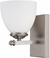 Capital Lighting 8401MN-202 Chapman Matte Nickel Wall Lighting Sconce