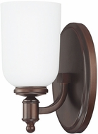 Capital Lighting 8441BB-102 Covington Burnished Bronze Wall Light Sconce