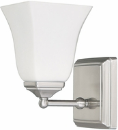 Capital Lighting 8451BN-119 Brushed Nickel Wall Light Sconce