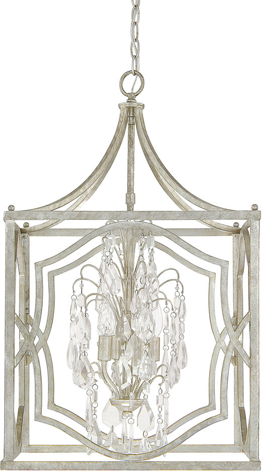 Capital Lighting 9482as Cr Blakely Antique Silver Foyer