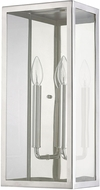 Capital Lighting 9683PN-CL Polished Nickel Wall Light Sconce