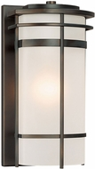 Capital Lighting 9882OB Lakeshore Contemporary Old Bronze Exterior Sconce Lighting