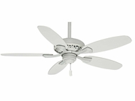 Casablanca 53194 Fordham Cottage White Finish Ceiling Fan - 44  Wide