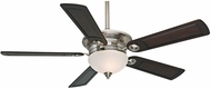 Casablanca 59059 Whitman Brushed Nickel Halogen 54  Reclaimed Antique Ceiling Fan