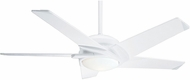 Casablanca 59165 Stealth DC Modern Snow White LED 54  Ceiling Fan