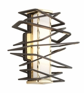 Corbett 186-11 Tantrum Modern Bronze Finish 10  Wide LED Wall Lamp