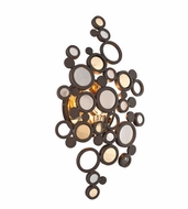 Corbett 188-11 Fathom Modern Bronze Finish 9  Wide LED Light Sconce