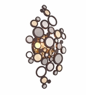 Corbett 188-12 Fathom Contemporary Bronze Finish 21.25  Tall LED Lighting Sconce