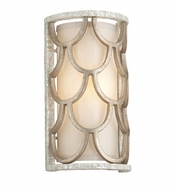 Corbett 195-11 Koi Bronze Leaf Finish 13.75  Tall Wall Light Sconce