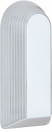 Costaluz 243353-FR 2433 Series Contemporary White Frosted Outdoor Wall Light Sconce